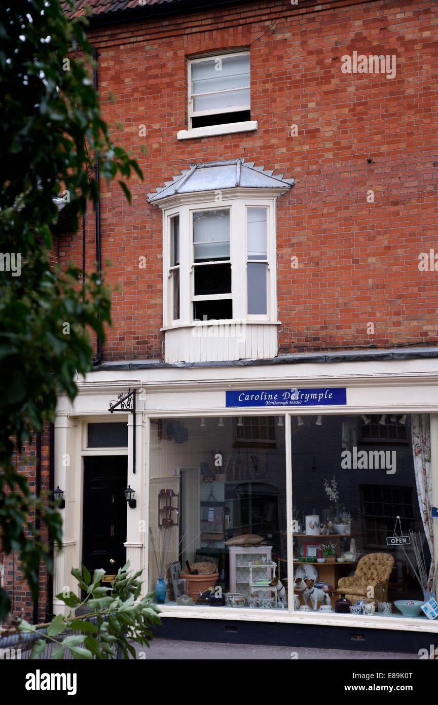 Exterior Of Caroline Dalrymple Interior Design Shop In Pewsey Wiltshire
