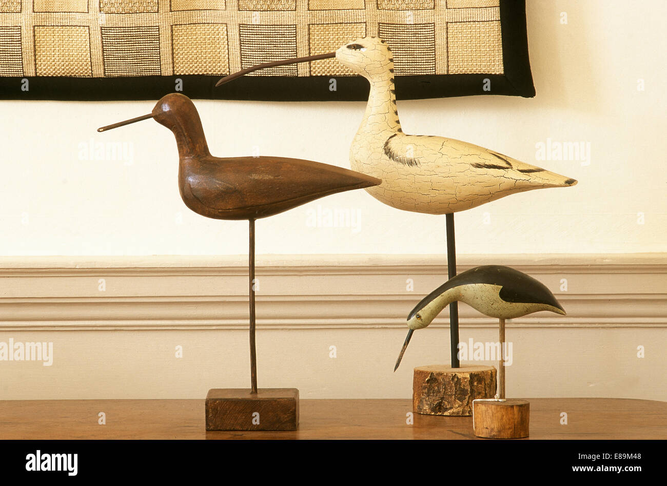 Close-up of carved wooden birds Stock Photo: 73972088 - Alamy