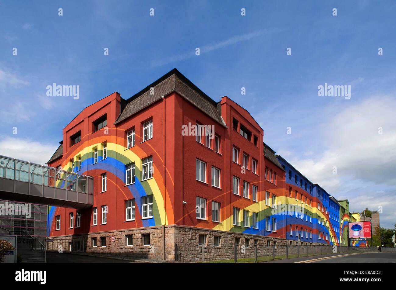 regenbogenhaus factory building of the rosenthal company. Black Bedroom Furniture Sets. Home Design Ideas