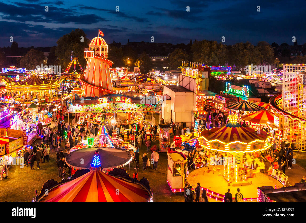describe a fun fair The digital funfair is one the most original, imaginative and eccentric sideshows  in  across festival sites to show them what they've just seen but can't describe.