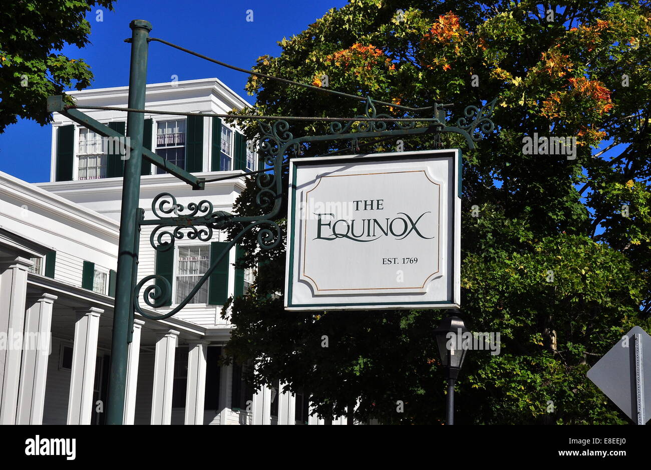 Manchester village vermont the greek revival luxury equinox hotel and resort is a village