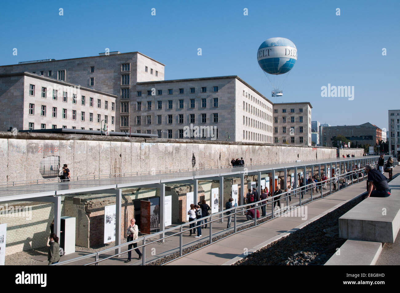 Topography of Terror museum on site of former SS and ...