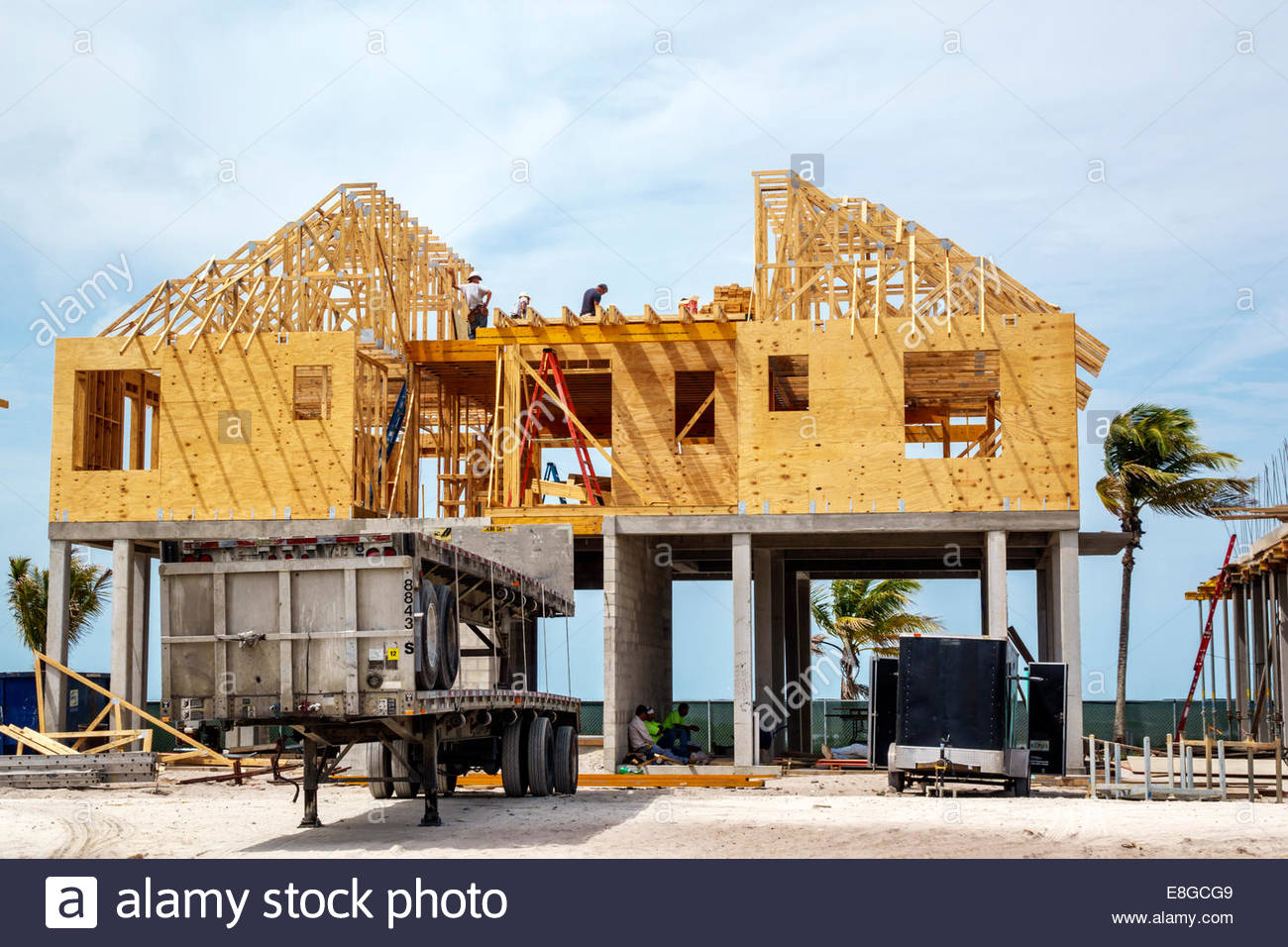 Fort myers florida ft beach estero island new home for Building a house in florida