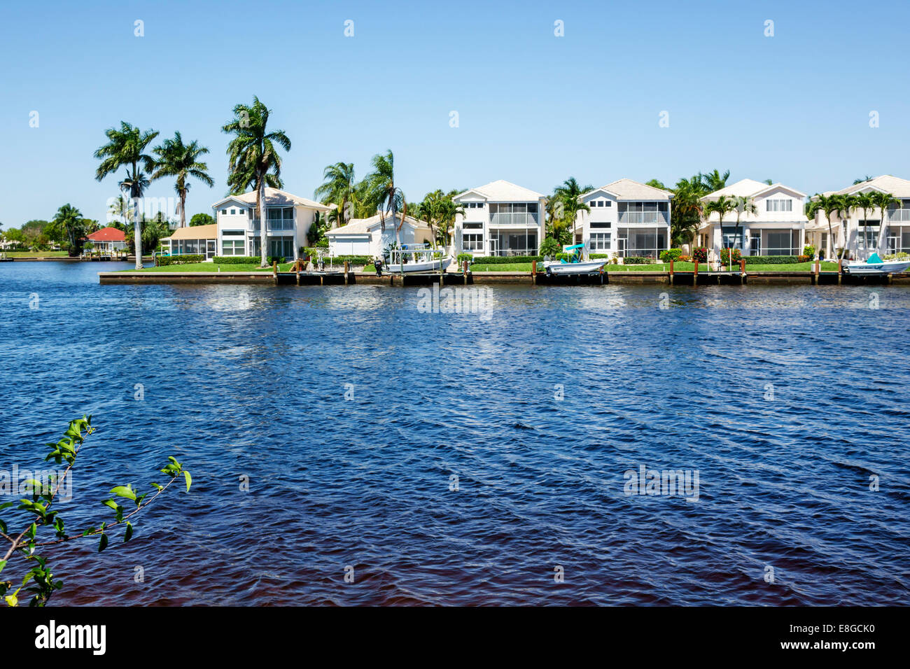 florida houses on the water. naples florida port of the islands resort everglades faka union canal water waterfront houses homes boats on s