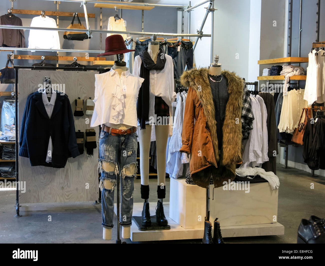 Urban clothing stores in nyc