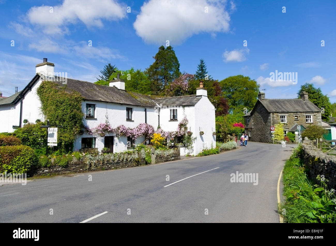 Buckle Yeat Guest House, in the village of Near Sawrey, Lake ...