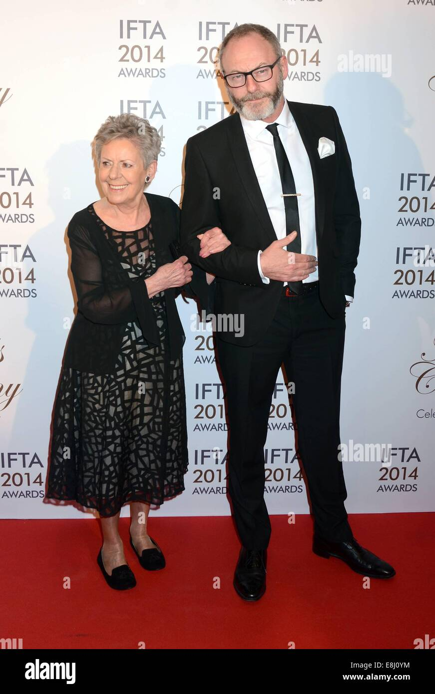 Photo of Liam Cunningham & his  Mother  Kathleen Cunningham