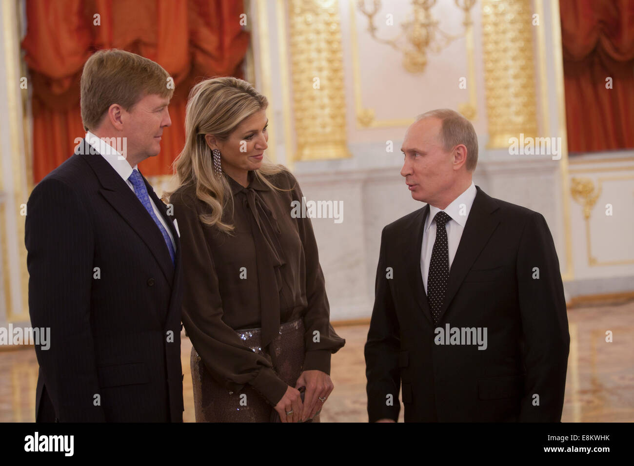 how did willem alexander and maxima meet