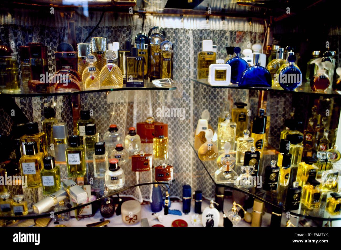 nice france perfume shop stock photo royalty free image. Black Bedroom Furniture Sets. Home Design Ideas