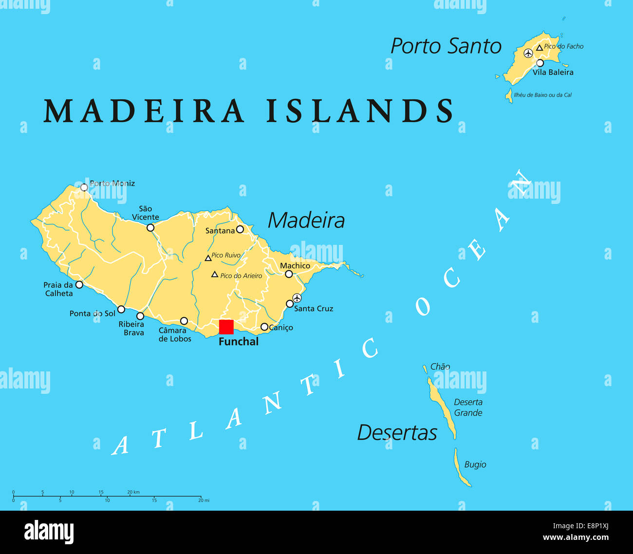 Where Is Madeira Island On The World Map
