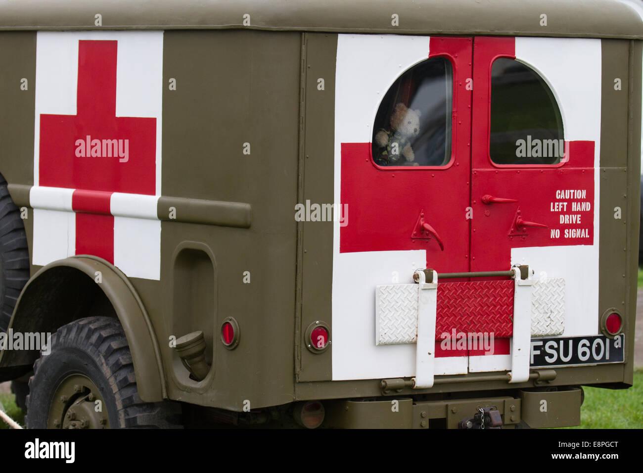 wartime emergency stock photos wartime emergency stock images fsu 601 1942 1945 dodge wc 54 ambulance american medical vintage medic truck