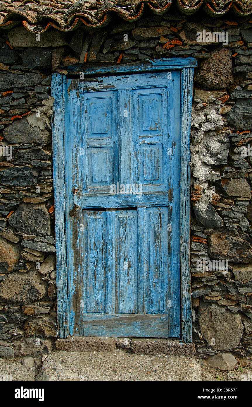 Old Light Blue Door Stock Photo Royalty Free Image