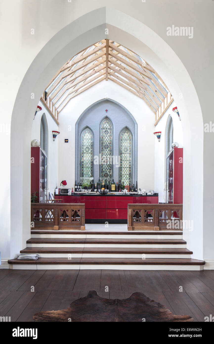 Split Level Kitchen Split Level Kitchen Arch St Johns Church Conversion St Johns