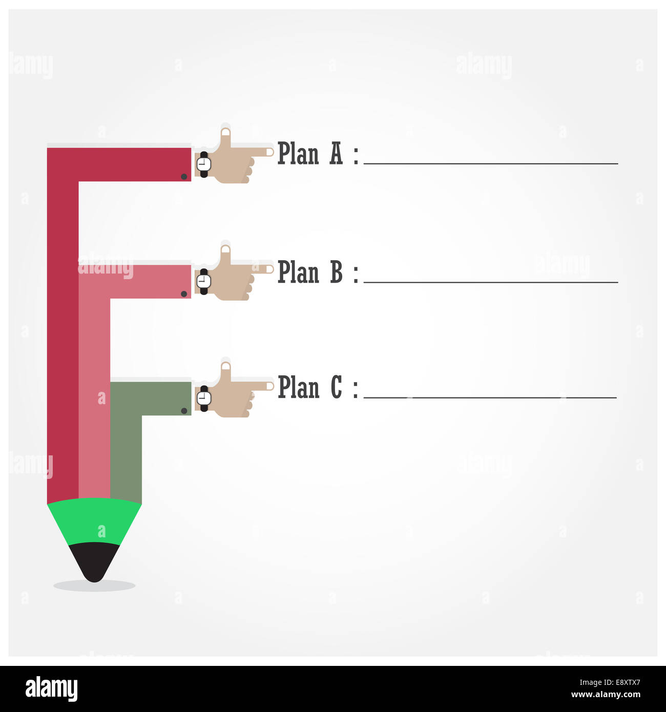 Creative template with pencil ribbon banner flow chart can be used creative template with pencil ribbon banner flow chart can be used for infographics and banners business and education concept geenschuldenfo Choice Image