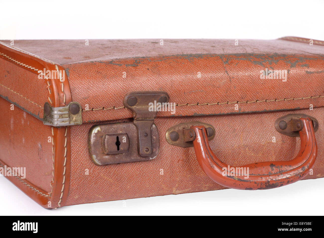old leather suitcase Stock Photo, Royalty Free Image: 74355666 - Alamy