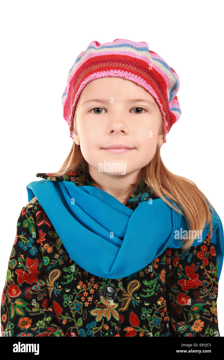 Beautiful 5 Year Old Girl Smiling Stock Photo Royalty