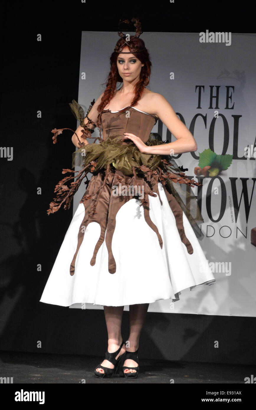 London, UK. 17th October, 2014. The world famous Chocolate Fashion ...