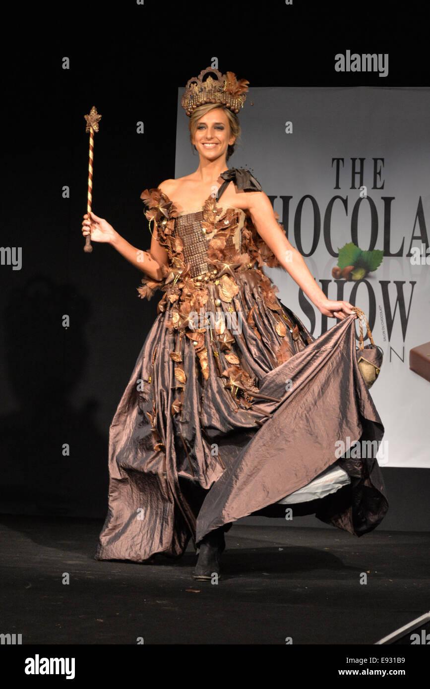 London, UK. 17th October, 2014. The world famous Chocolate Fashion ...