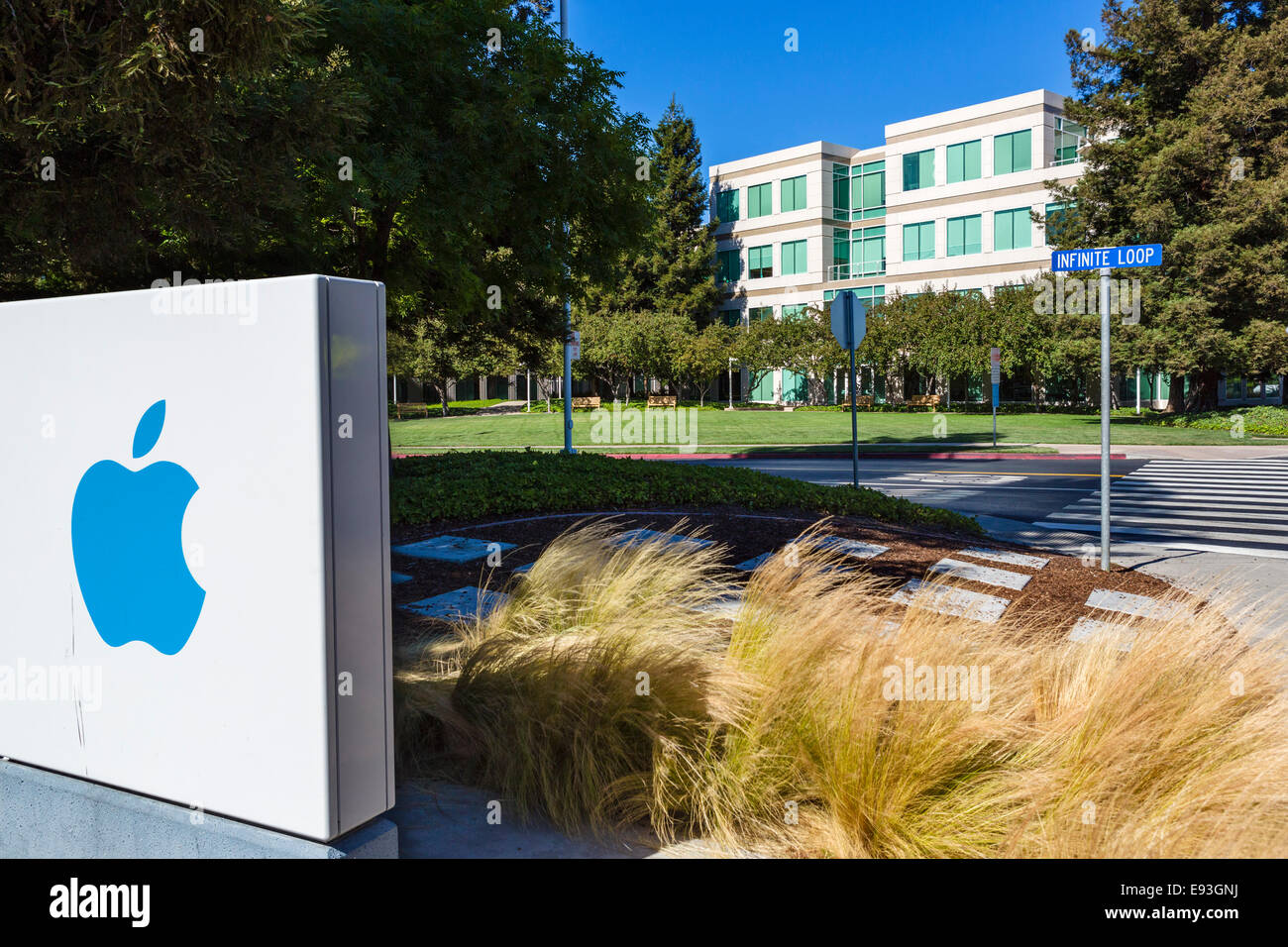 apple inc head office campus infinite loop cupertino california usa apple cupertino office