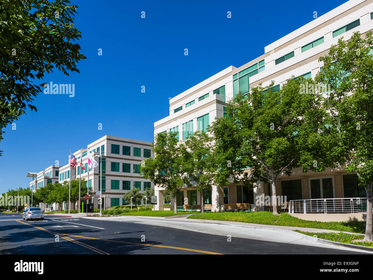 apple inc head office campus one infinite loop cupertino california usa r