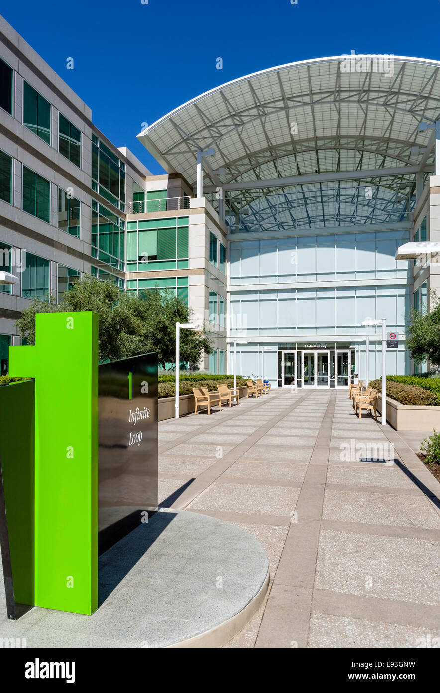 Apple Inc Head Office Campus One Infinite Loop Cupertino Stock