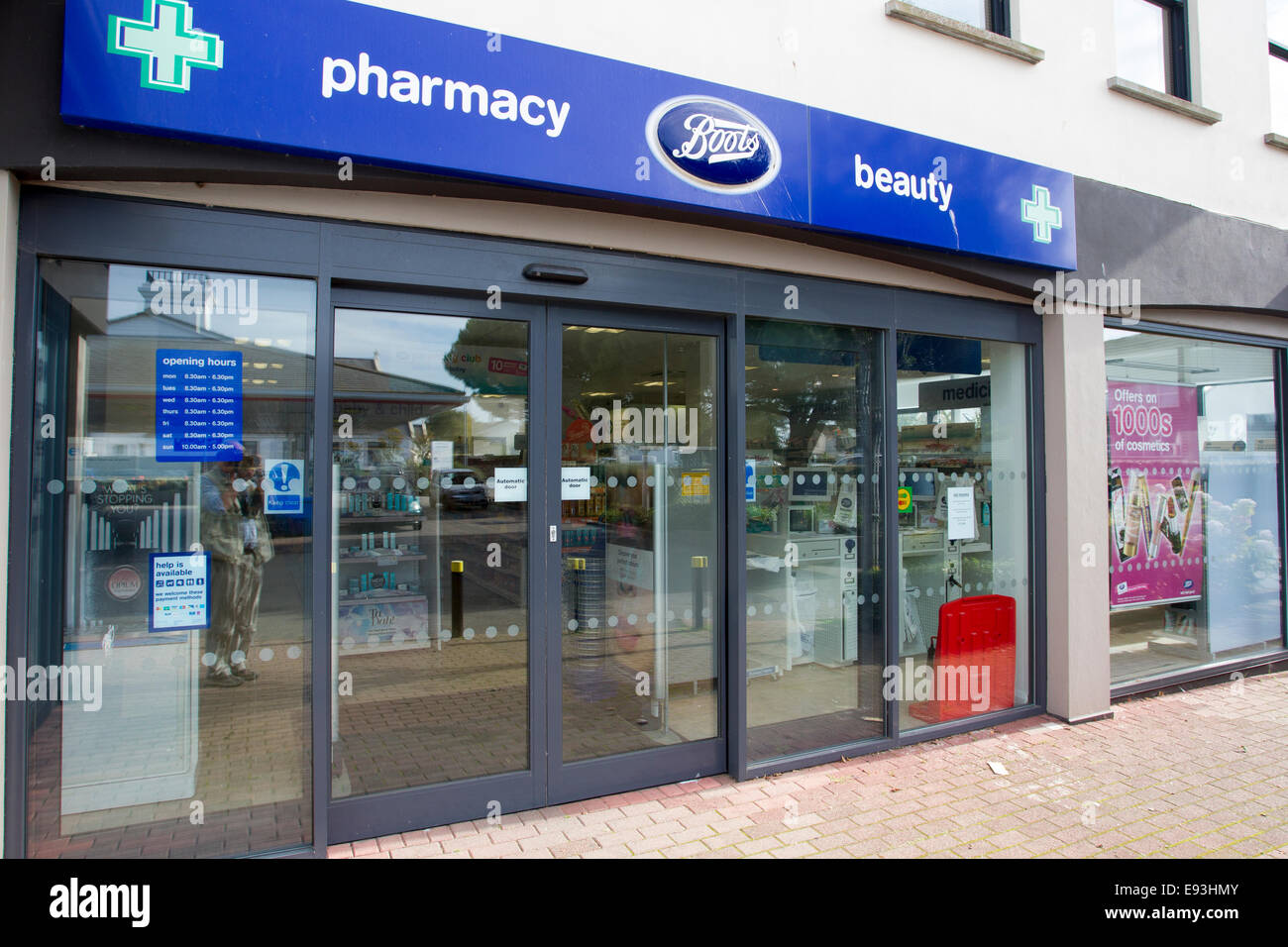 jersey chemist opening hours