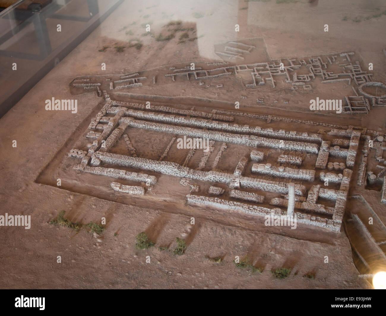 heraion of samos large sanctuary to the goddess hera samos