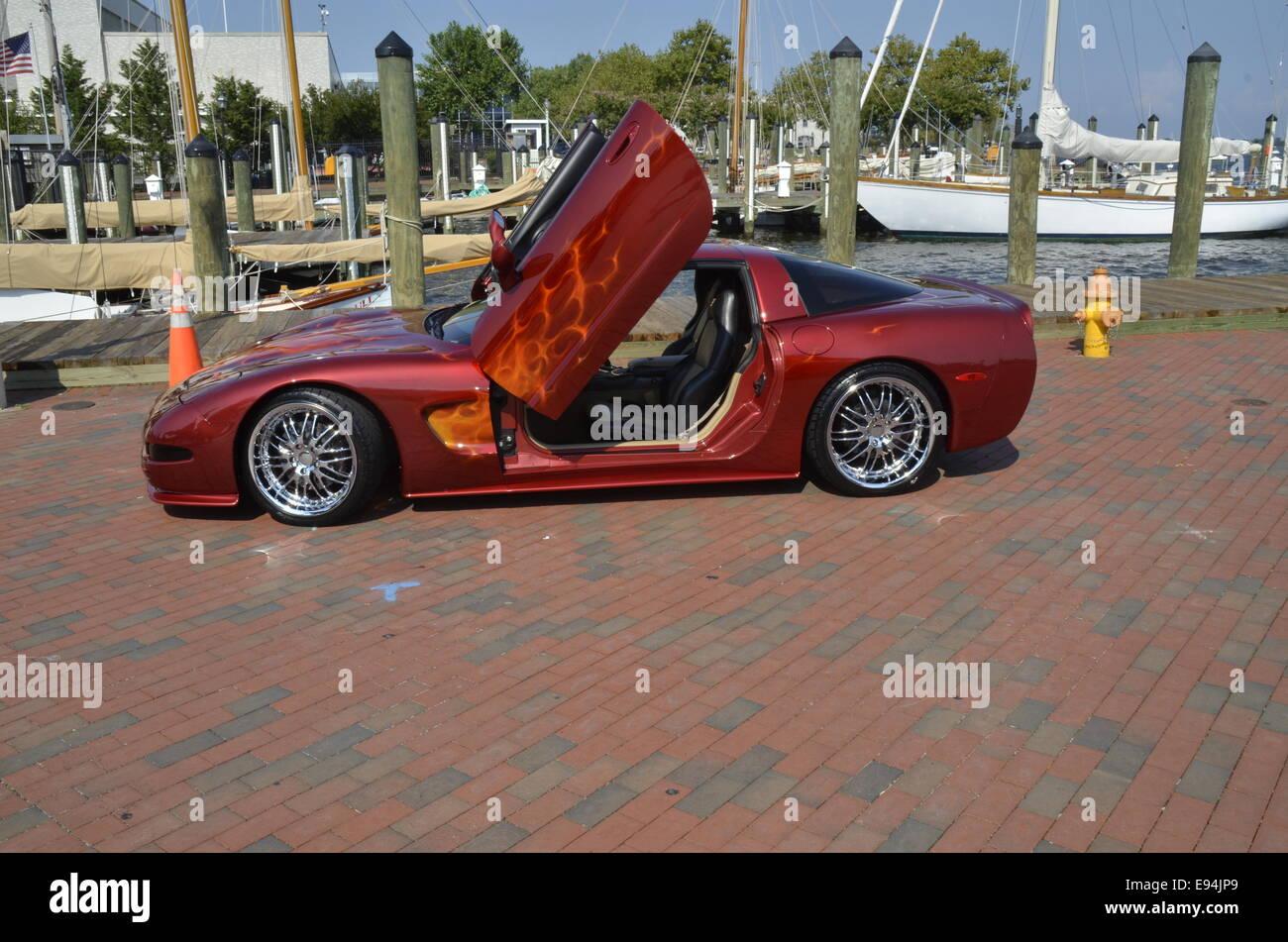 Late model Chevrolet Corvette Stock Photo, Royalty Free Image ...