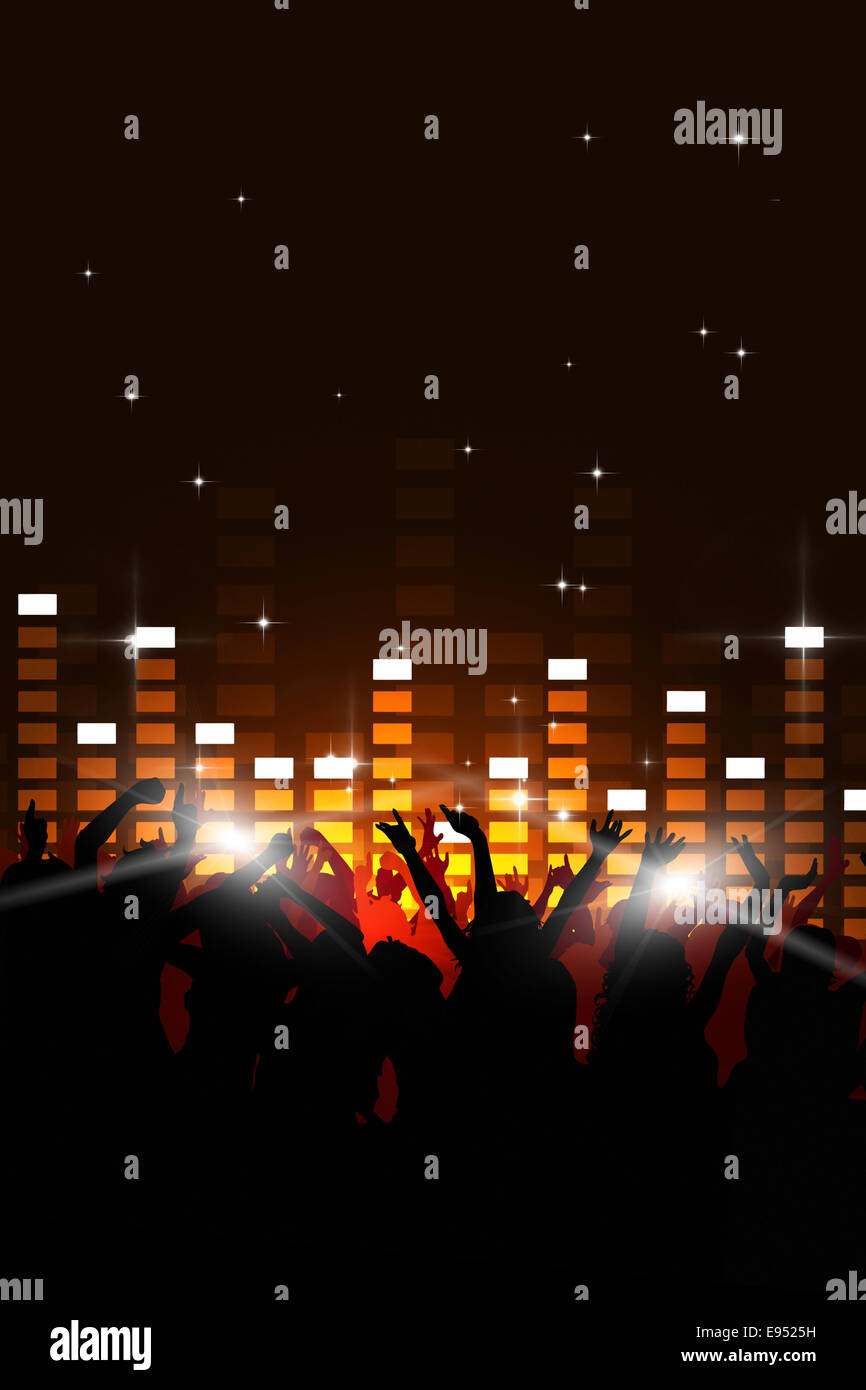 party music background for flyers and nightclub events