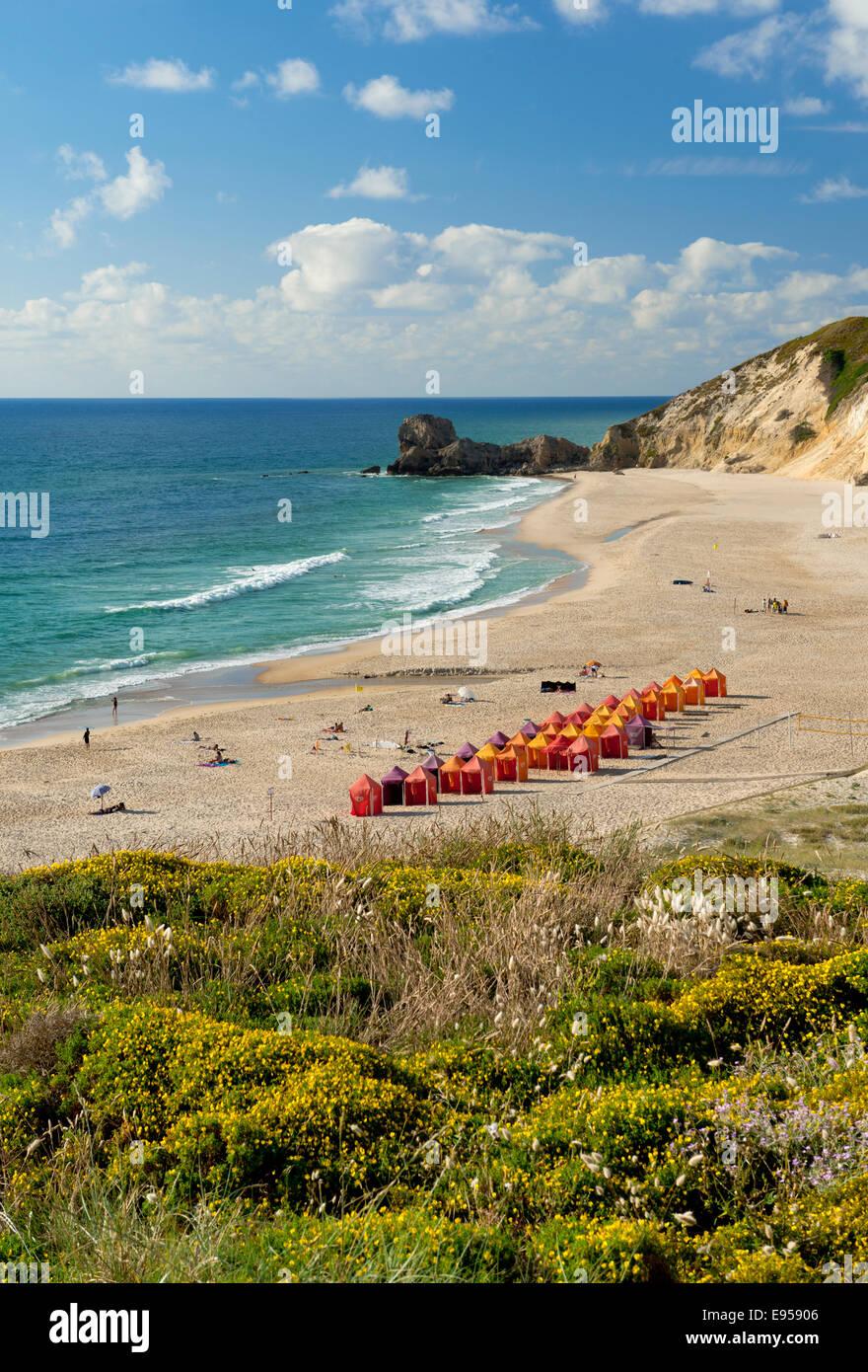 Aeroporto Beira Da Praia : Praia da légua beach near nazaré costa prata beira