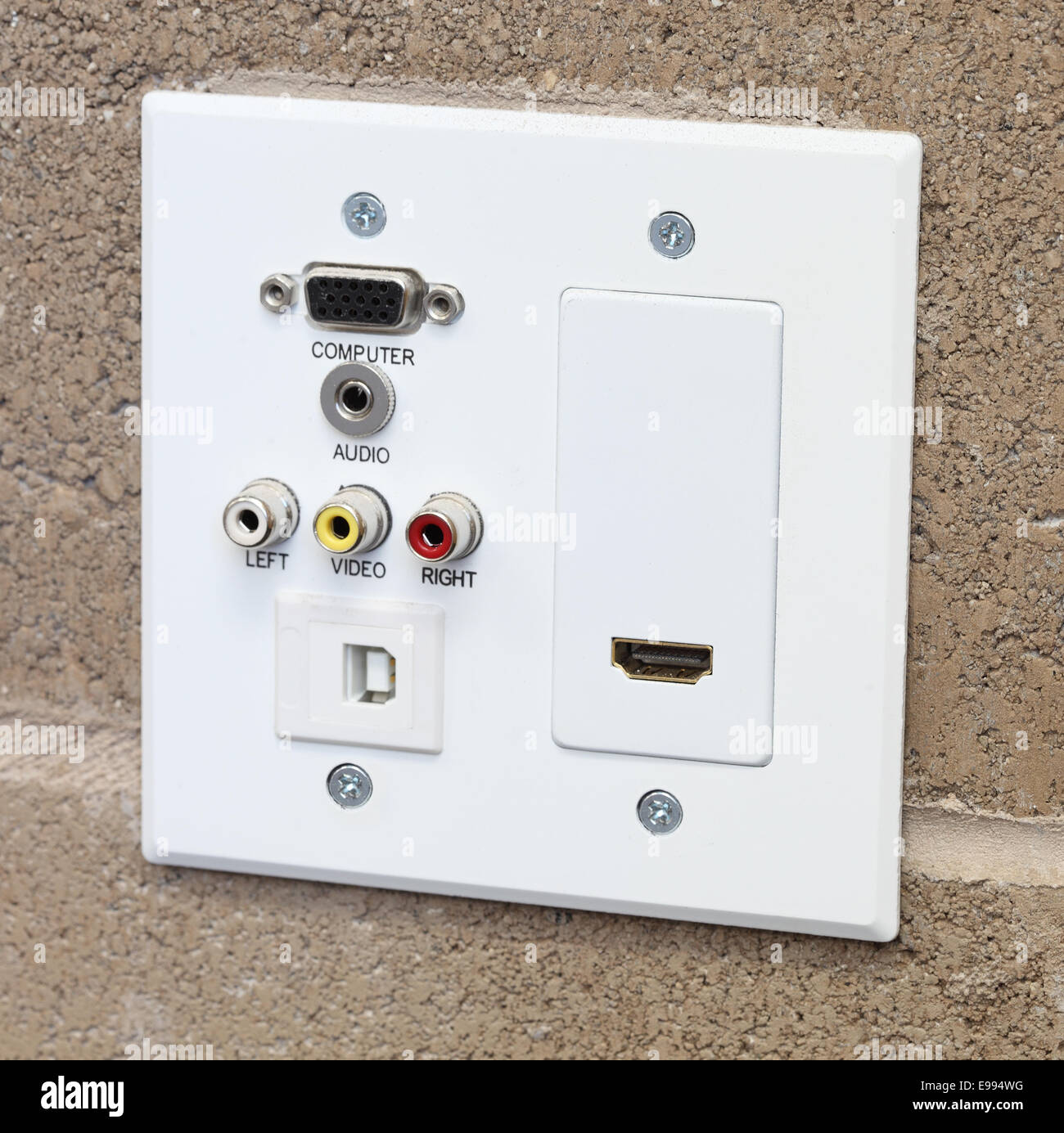 how to connect wall outlets for internet cables
