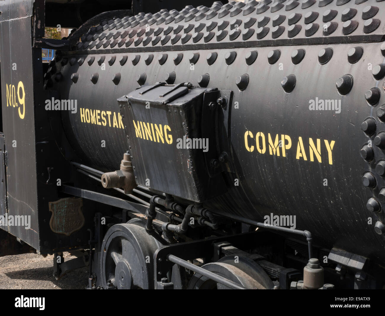 Black Hills Mining Museum Lead SD USA Stock Photo Royalty Free - Black museums in usa