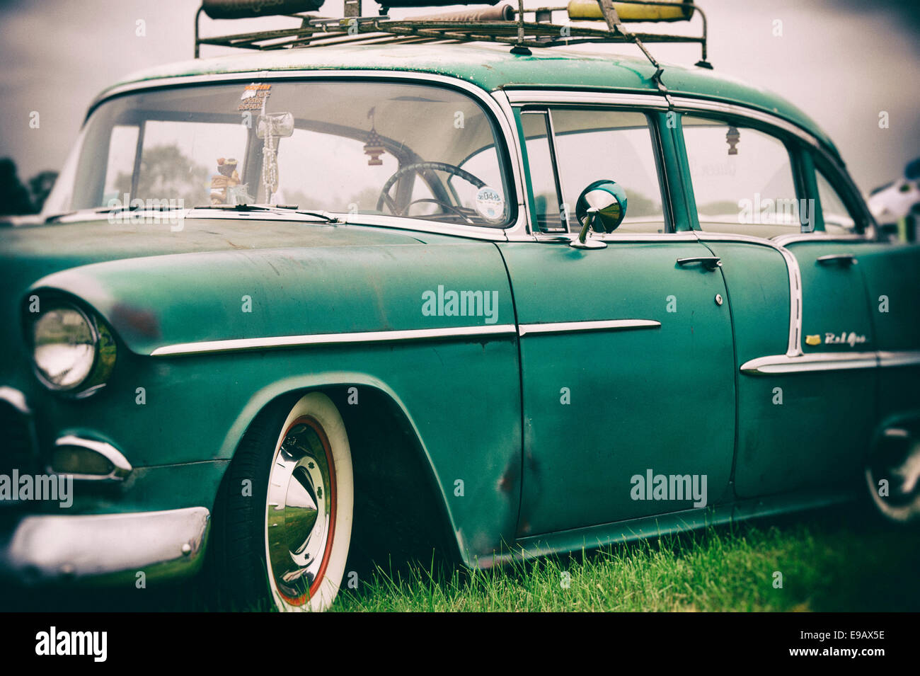 Old Chevrolet, Bel Air. Chevy. Classic American car. Vintage Camera ...