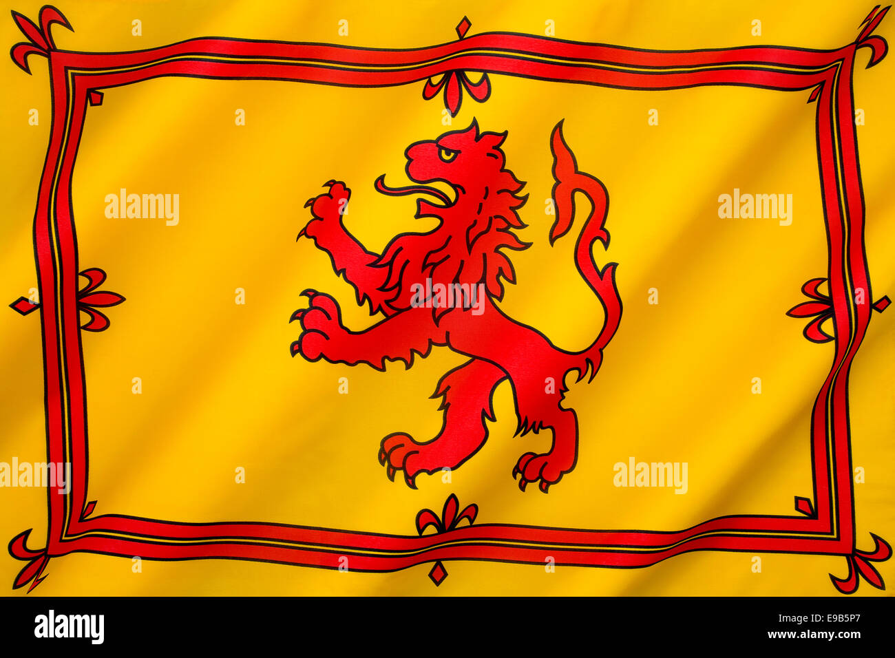 the royal banner of the royal arms of scotland or more commonly