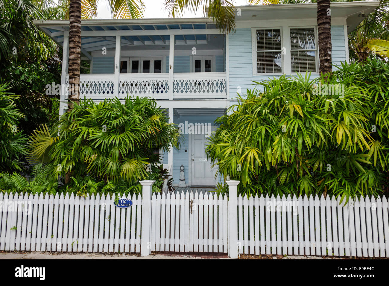 Florida Key West Frances Street House Home Private