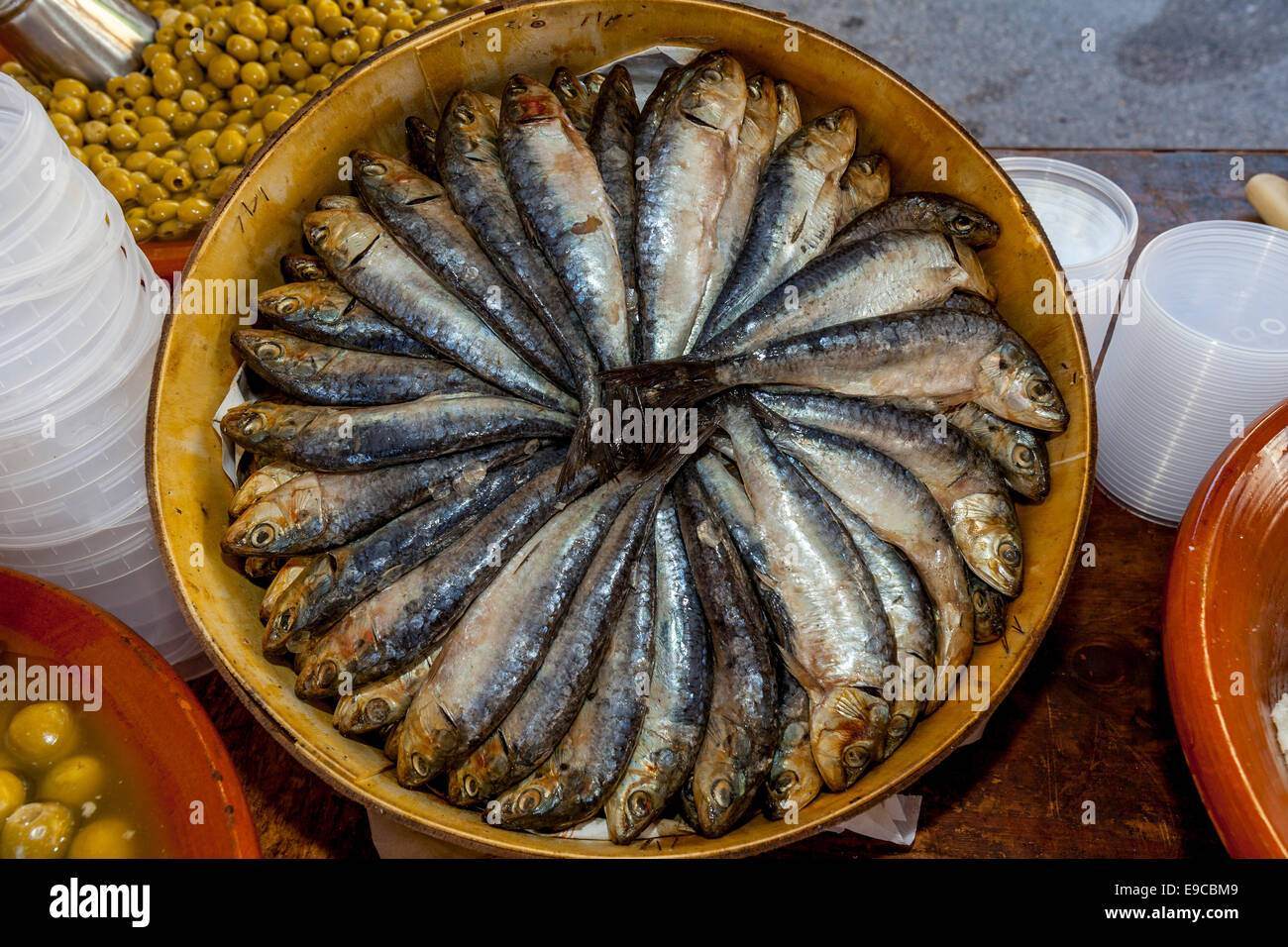 Fish for sale at the thursday market inca mallorca for Stock fish for sale