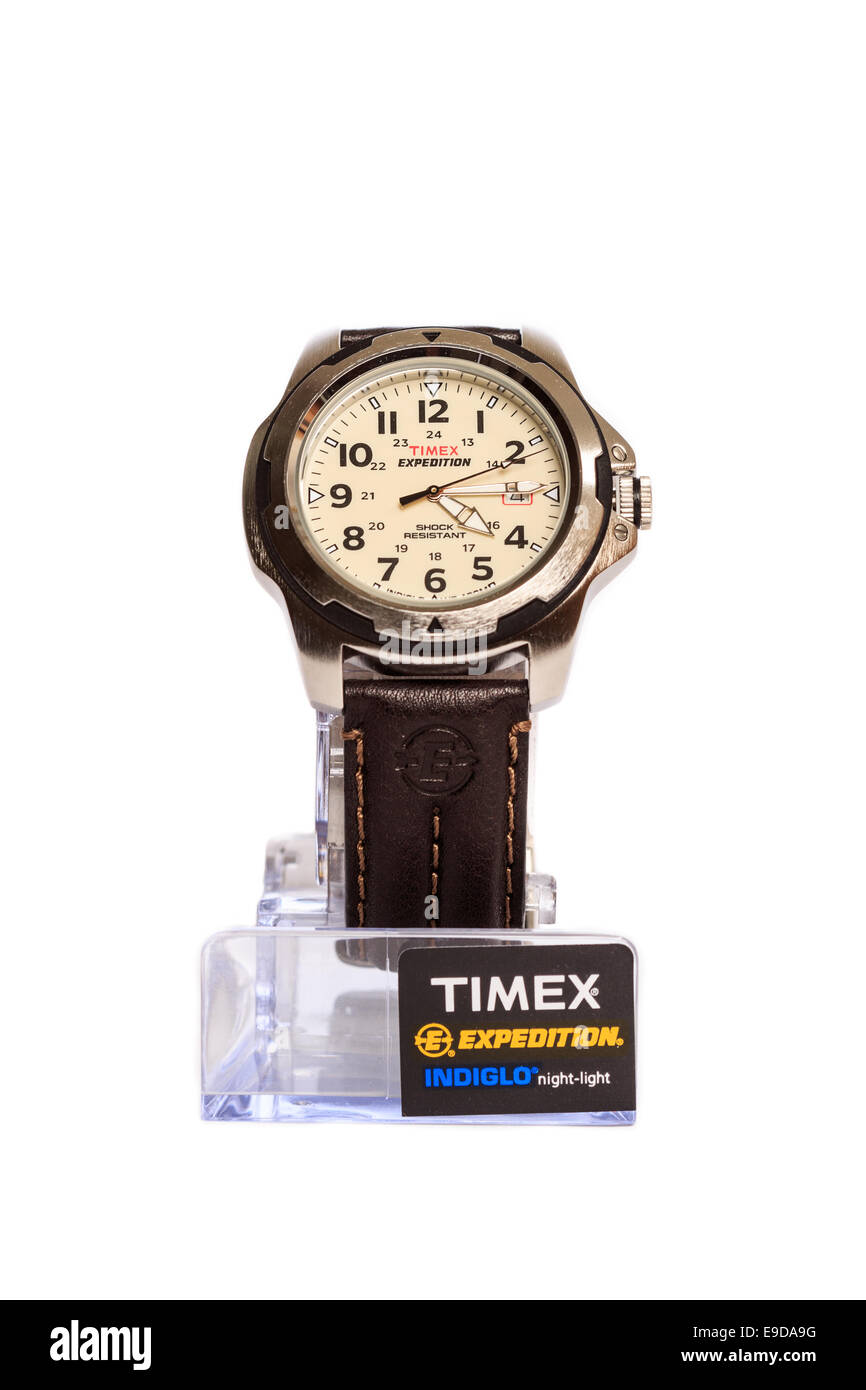 how to set time on timex expedition indiglo