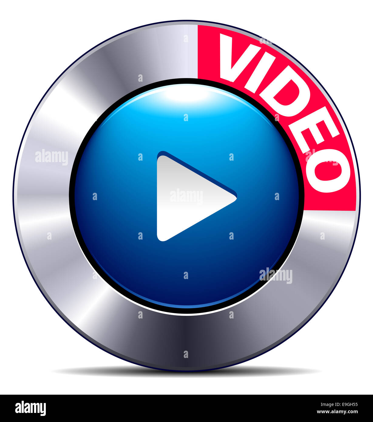 Movie play button app symbol for websites phones stock photo movie play button app symbol for websites phones biocorpaavc