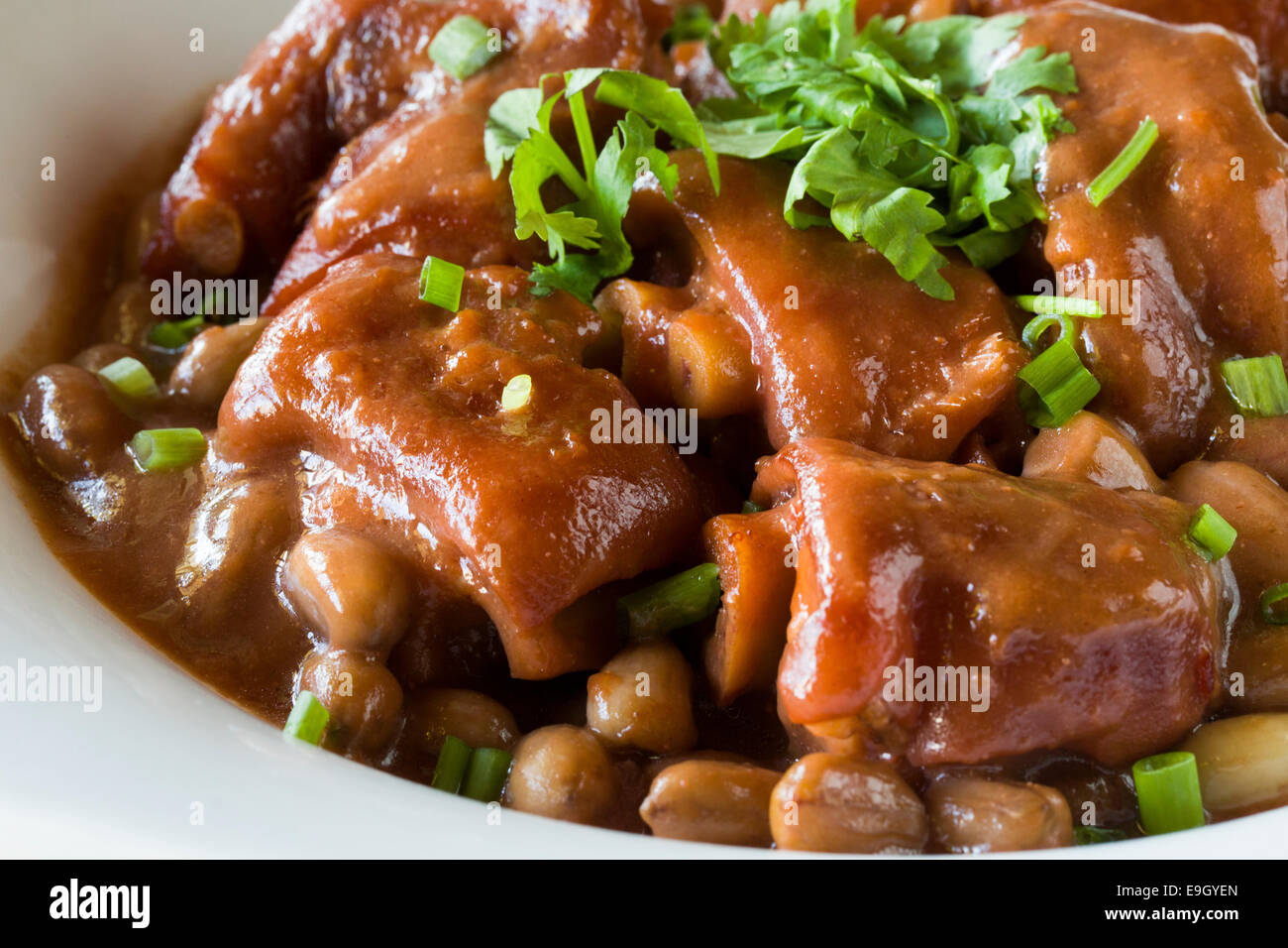 Pork hock recipes chinese