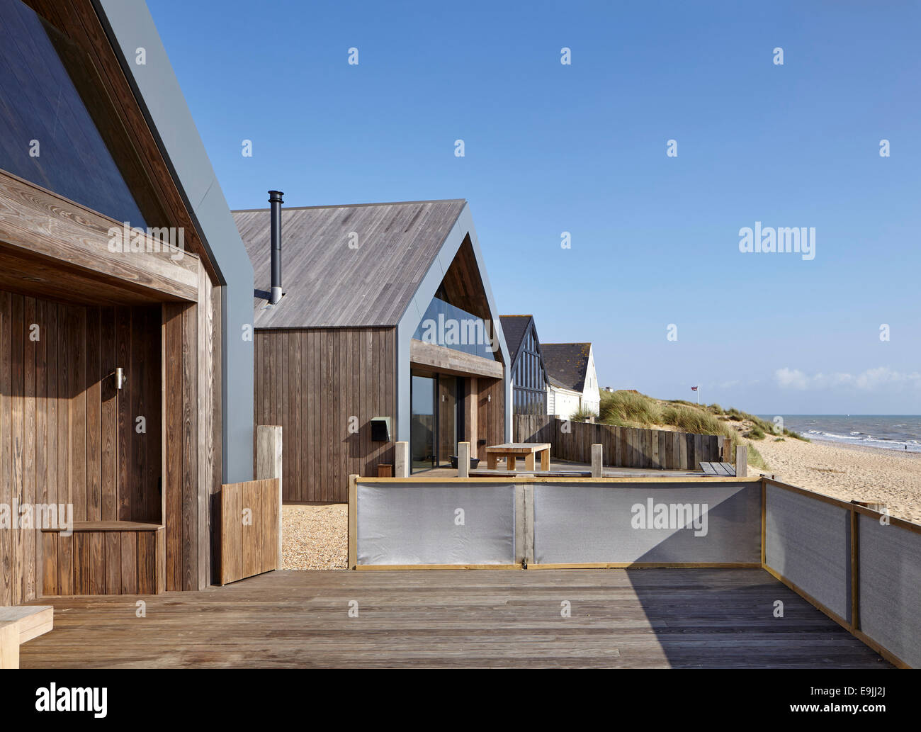 Camber Sands Beach Houses Rye United Kingdom Architect Walker And Martin