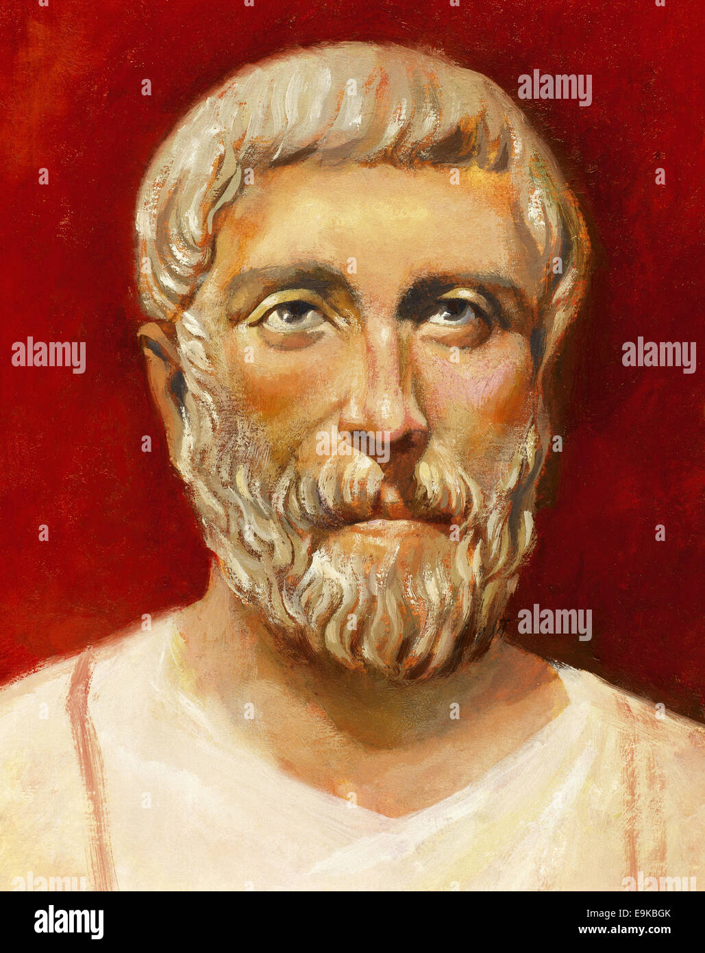 pythagoras stock photos pythagoras stock images  pythagoras of samos 570 bc 495 bc ionic greek philosopher and