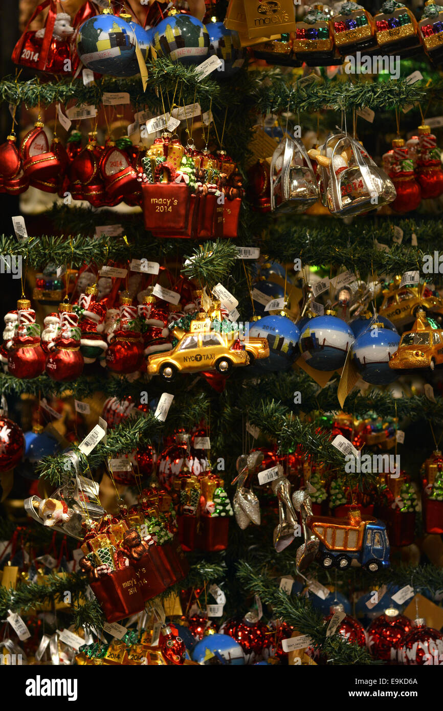 Christmas tree ornaments for sale at Macy's deapartment ...