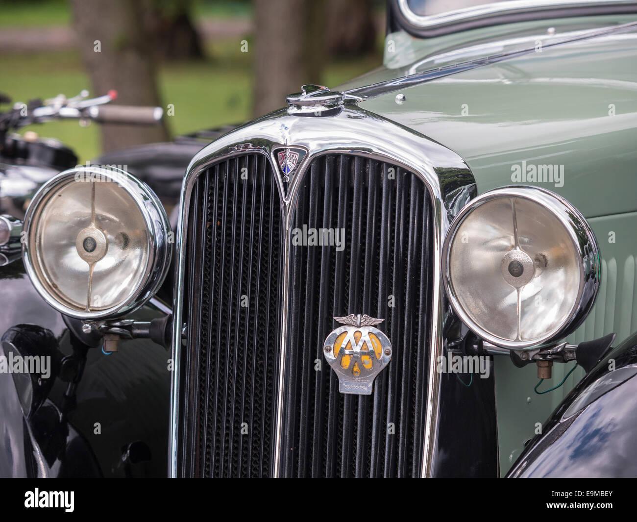 Standard Vanguard 1940\'s era vintage and classic English car Stock ...