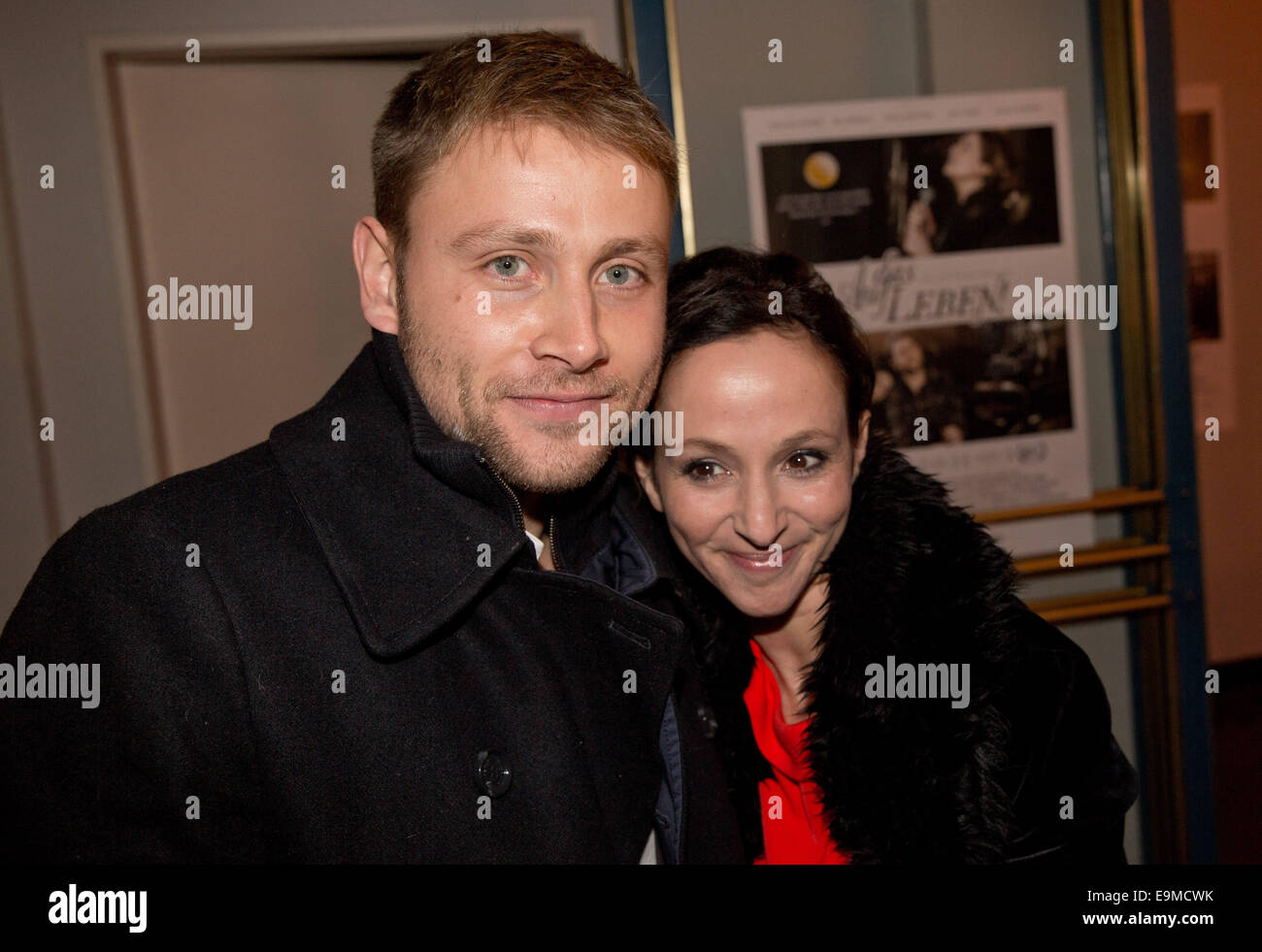 Picture of max riemelt - Actress Sharon Brauner R And Actor Max Riemelt Arrive For The Premiere Of The Film Auf Das Leben In Berlin 29 October 2014