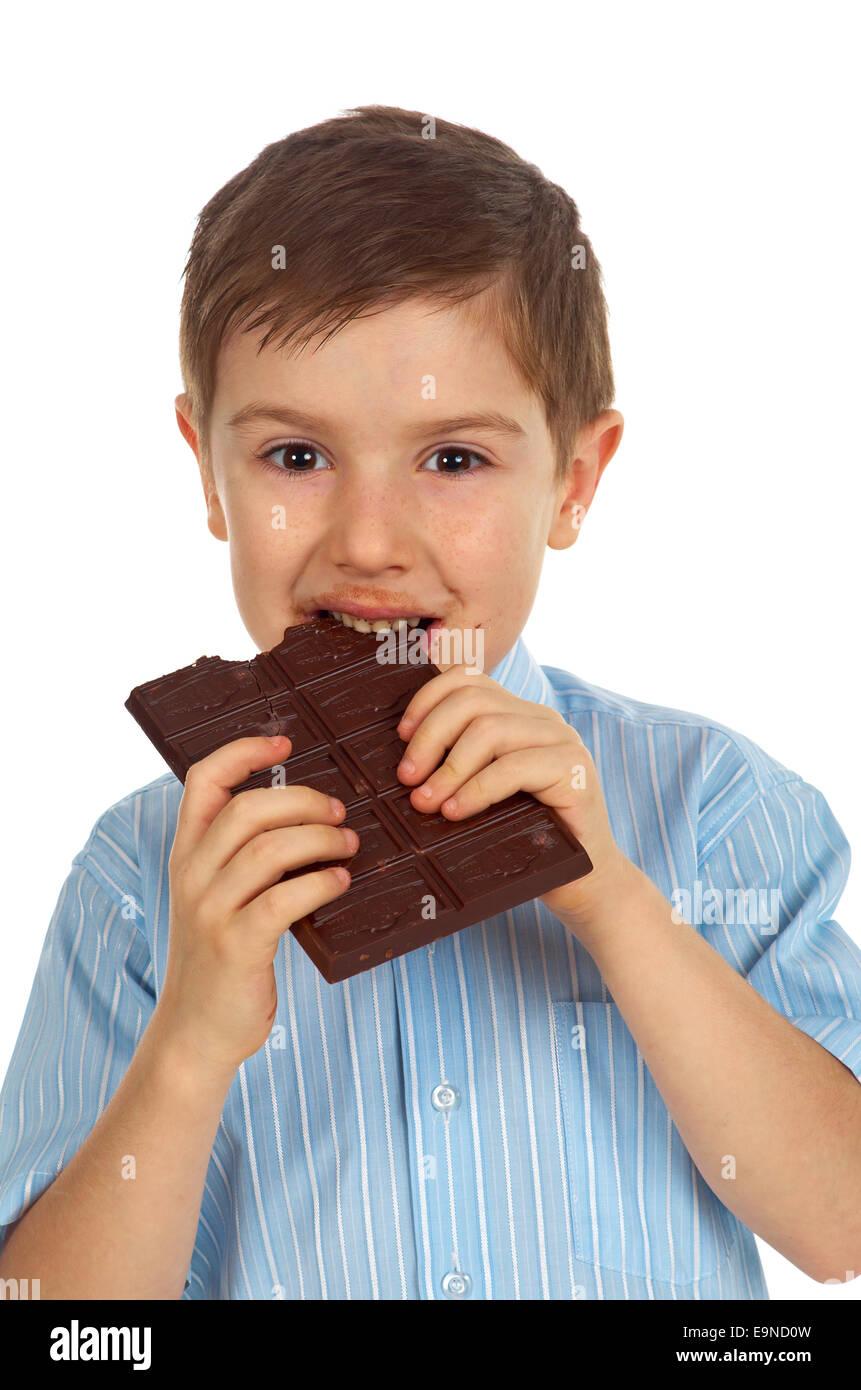 Eating Chocolate | www.pixshark.com - Images Galleries ...