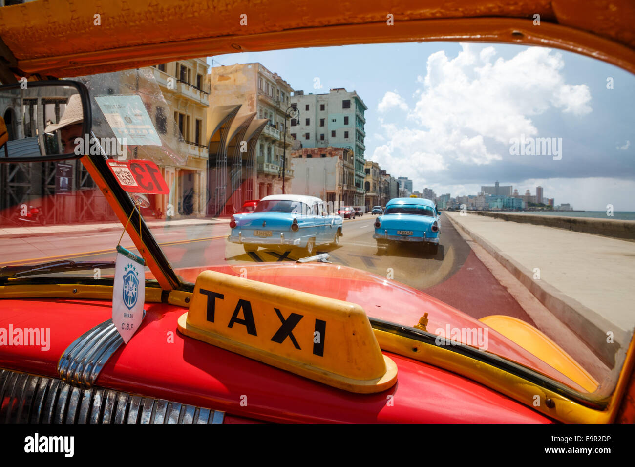 Editorial Use Only] Old classic cars used as taxis in Havana Stock ...