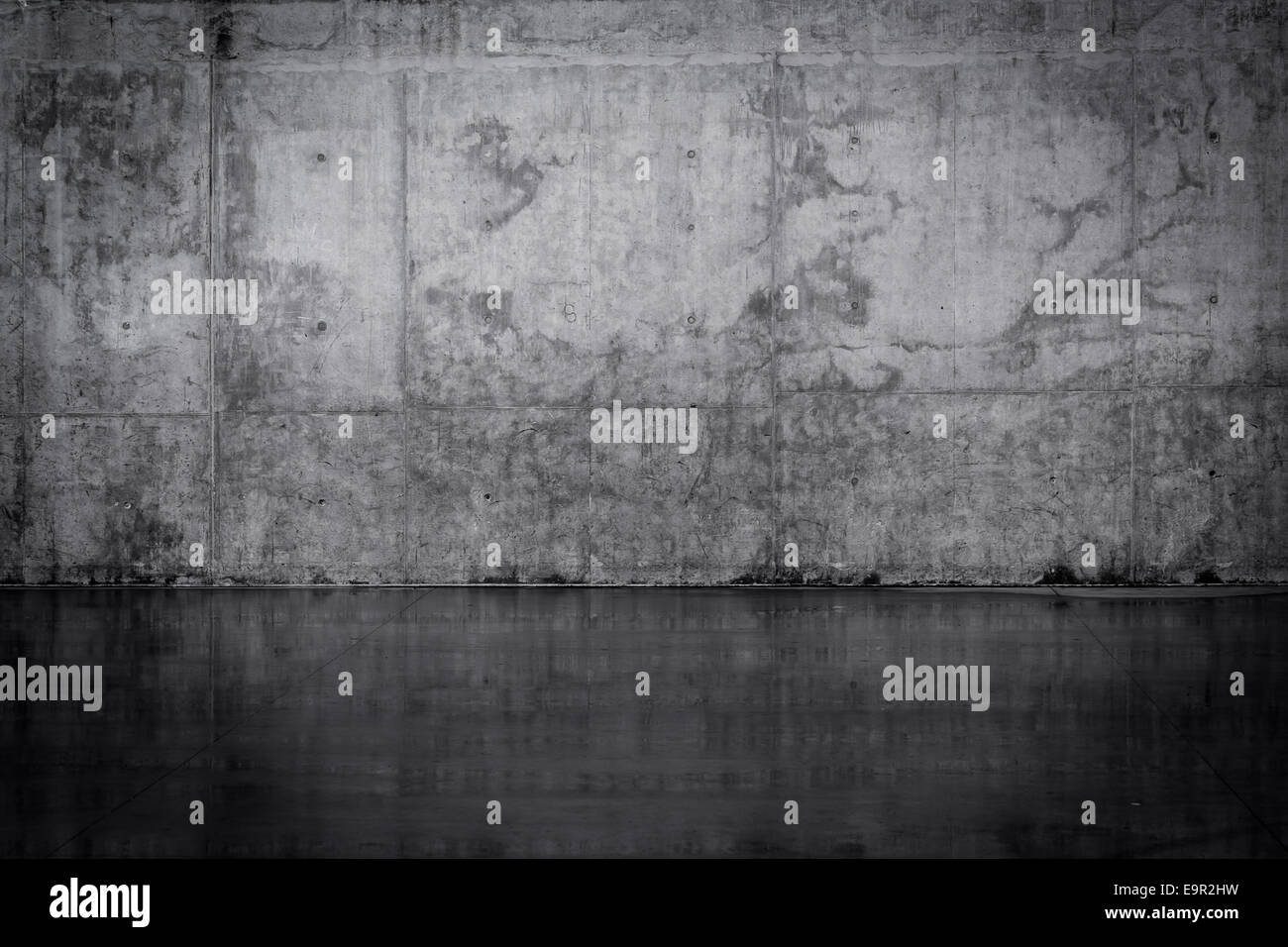 Dark Concrete Floor Texture grungy dark concrete wall and wet floor stock photo, royalty free