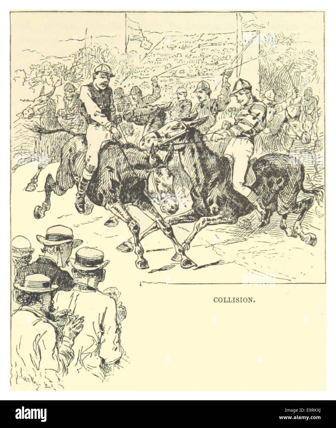 MARK TWAIN(1883) p469 - COLLISION Stock Photo, Royalty Free Image ...
