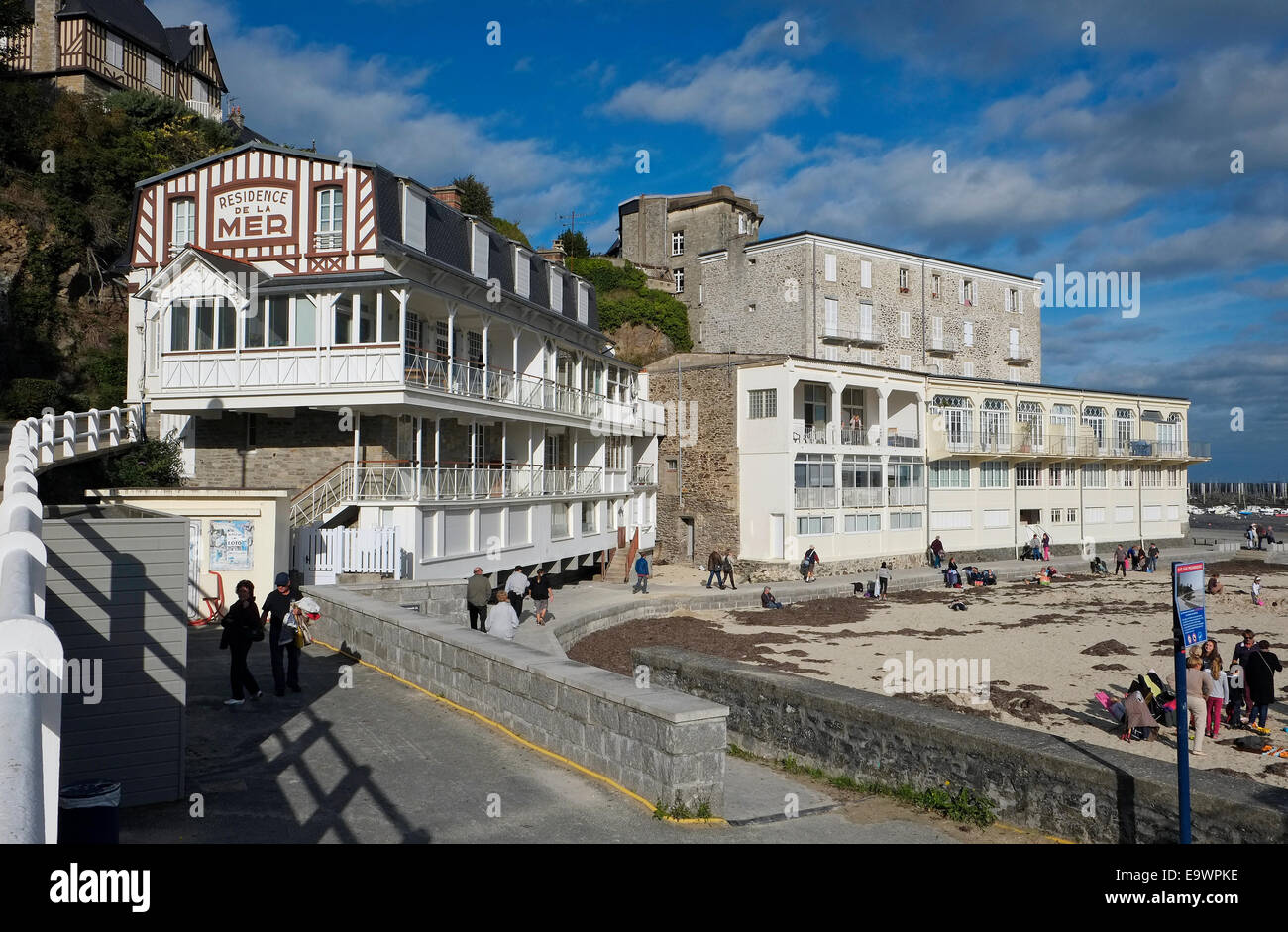 St Cast Le Guildo, Brittany, France Stock Photo, Royalty