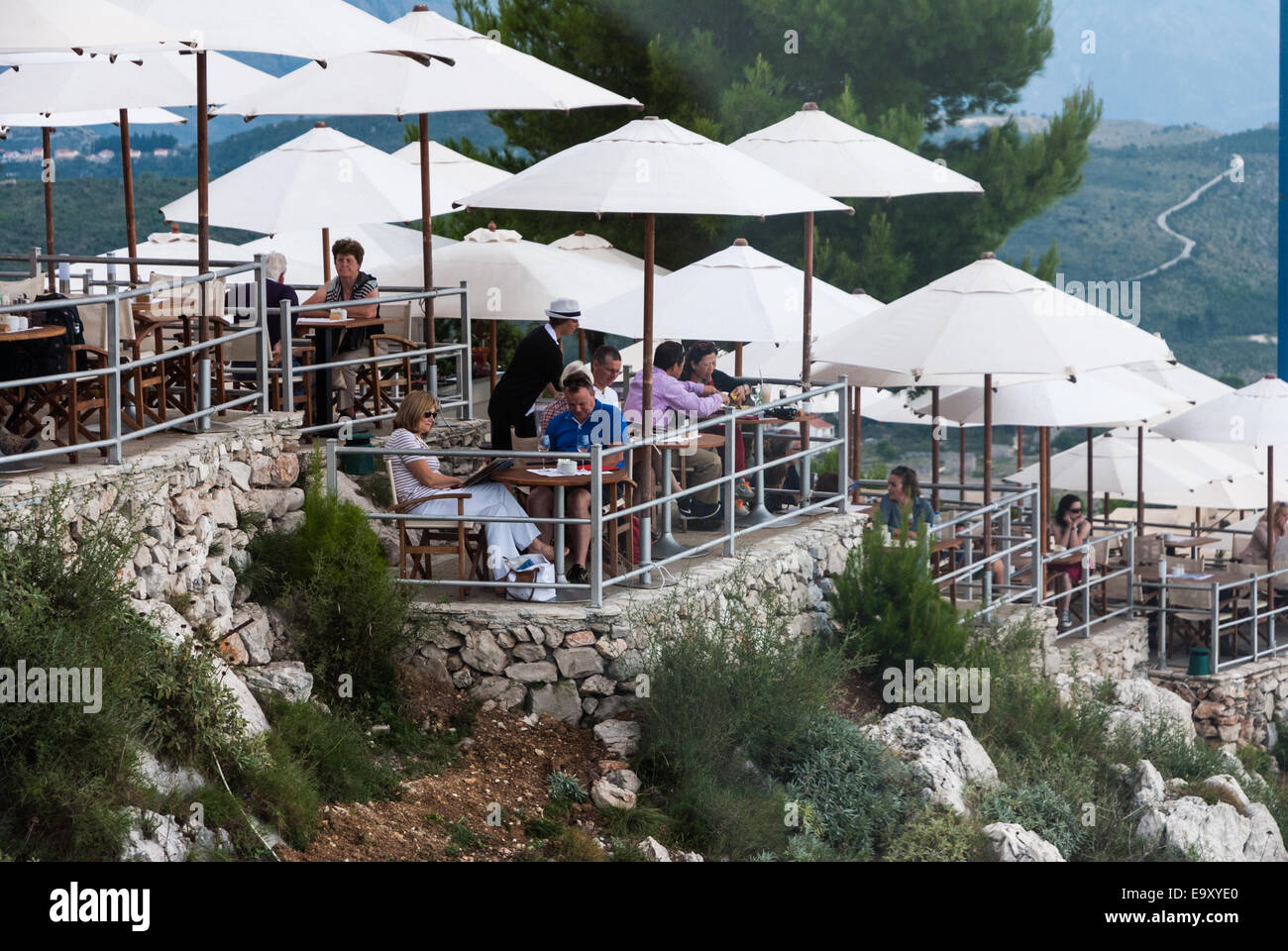 how to get to panorama restaurant dubrovnik